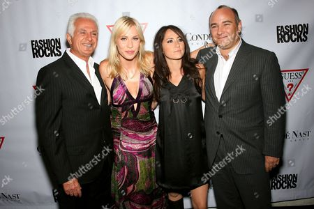 Maurice Marciano, Natasha Bedingfield, KT Tunstall and Richard Beckman (President Conde Nast Media Group)