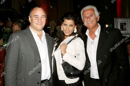 Richard Beckman (President Conde Nast Media Group), Nelly Furtado and Maurice Marciano