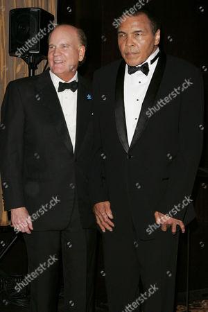 Bob Wright and Muhammad Ali