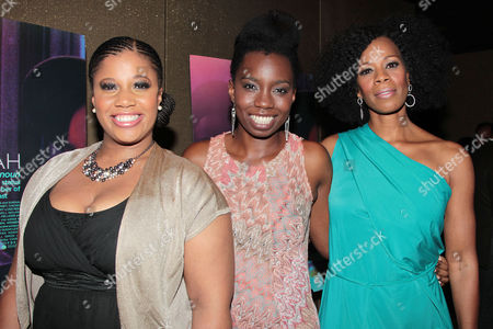 Pernell Walker, Adepero Oduye and Kim Wayans