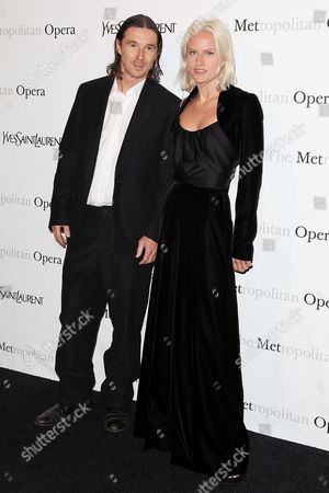 Stock Image of Neville Wakefield and Olympia Scarry