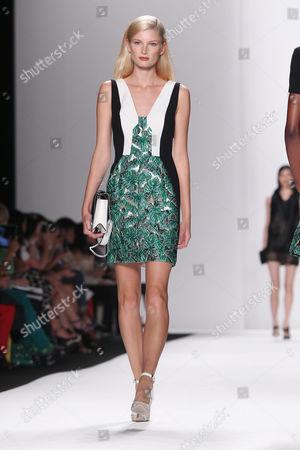 Editorial photo of J. Mendel show, Spring Summer 2014, Mercedes-Benz Fashion Week, New York, America - 11 Sep 2013