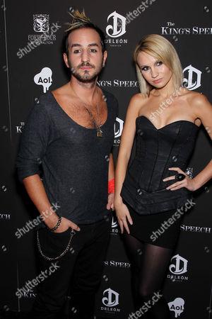 Charlie Aksum and Camilla Romestrand