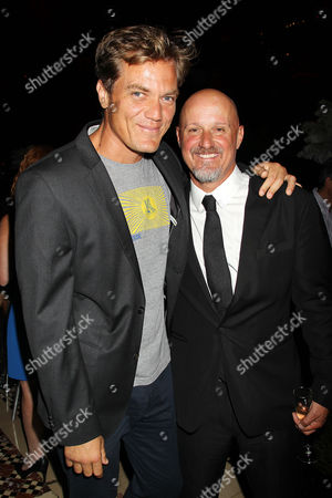 Stock Picture of Michael Shannon and Tim Van Patten