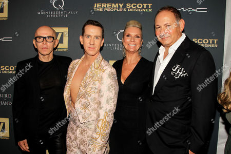Stock Picture of James Gager, Jeremy Scott, Karen Buglisi Weiler and John Demsey