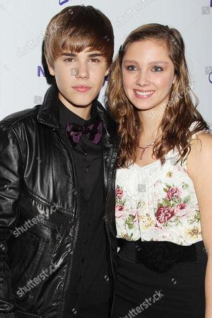 Editorial photo of 'Justin Bieber Never Say Never', Film Screening, New York, America - 02 Feb 2011