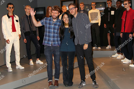 Stock Image of Timo Weiland, Donna Kang and Alan Eckstein