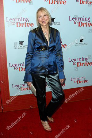 Editorial photo of 'Learning to Drive' film premiere, New York, America - 17 Aug 2015