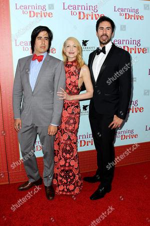 Daniel Hammond, Patricia Clarkson, Gabriel Hammond