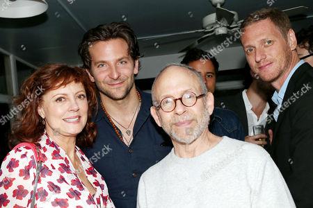 Susan Sarandon, Bradley Cooper, Bob Balaban and Brian Klugman