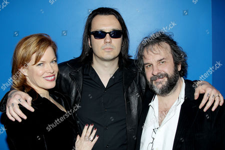 Lorri Davis, Damien Echols and Peter Jackson