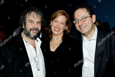 Stock Picture of Peter Jackson, Lorri Davis and Michael Barker