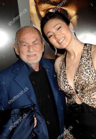 Dino De Laurentiis and Gong Li