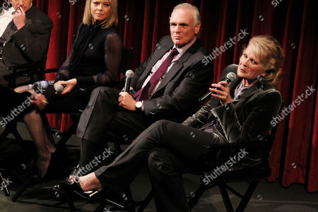 Joe Regalbuto and Candice Bergen