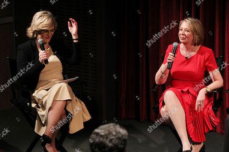 Cynthia McFadden and Diane English
