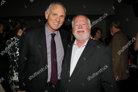 David Baldwin (EVP, Program Planning of Starz) and Joe Regalbuto