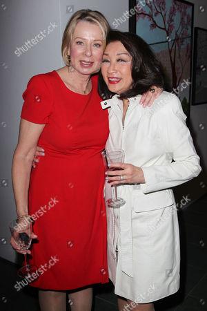 Diane English (Series Creator) and Connie Chung