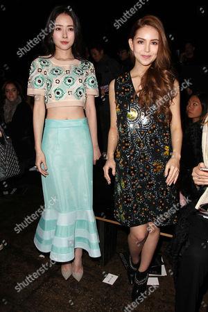 Bea Hayden and Kun Ling