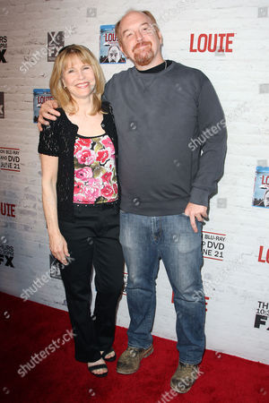 Donna Hanover and Louis CK