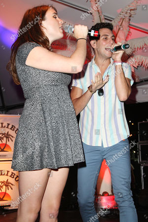 Victoria Asher and Gabe Saporta