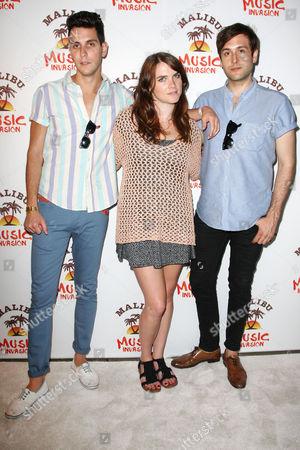 Gabe Saporta, Victoria Asher and Alex Suarez