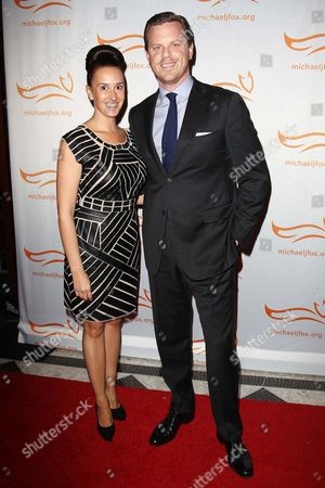 Christina Geist and Willie Geist
