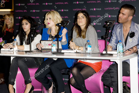 Stock Picture of Lourdes Maria Ciccone Leon, Kelly Osbourne, Leandra Medine and Joshua McKinley