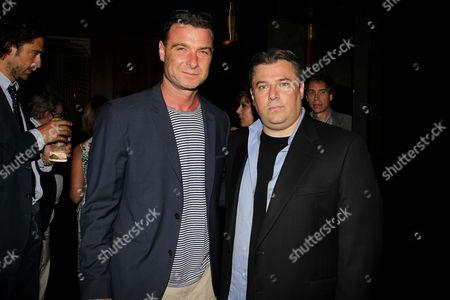 Liev Schreiber and Shane Salerno