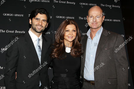 Editorial image of Private Screening of 'The Great Beauty' in New York, America - 12 Nov 2013
