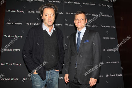Paolo Sorrentino and Peter Becker