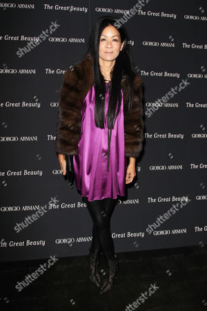 Editorial picture of Private Screening of 'The Great Beauty' in New York, America - 12 Nov 2013