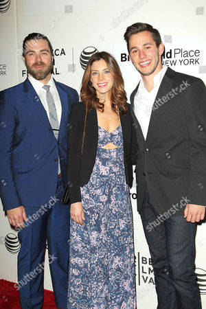 Stock Image of Matthew Delamater, Maggie Castle and Gabe Gibbs