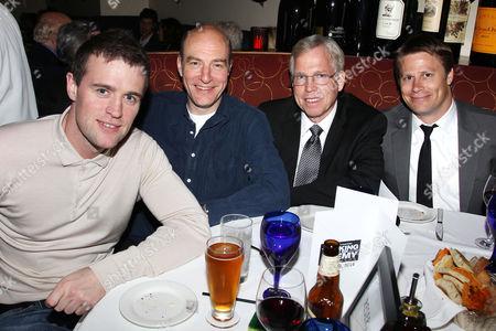 Jonas Armstrong, Simon Kunz, Randy Williams and Shawn Schmidt