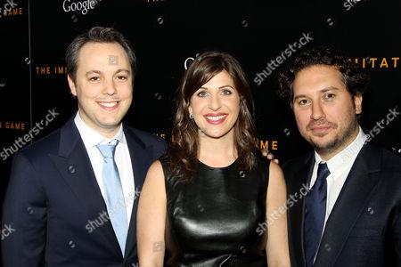 Ido Ostrowsky, Nora Grossman and Teddy Schwarzman (Producers)