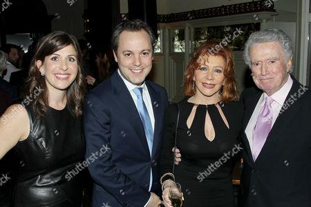 Nora Grossman, Ido Ostrowsky, Joy Philbin and Regis Philbin
