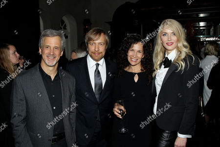 Stock Image of Billy Goldenberg (Film Editor), Morten Tyldum (Director), Allison Diftler and Janne Tyldum
