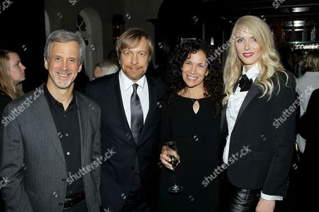 Stock Picture of Billy Goldenberg (Film Editor), Morten Tyldum (Director), Allison Diftler and Janne Tyldum