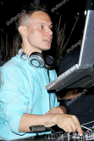 Stock Image of DJ Aaron Lacrate