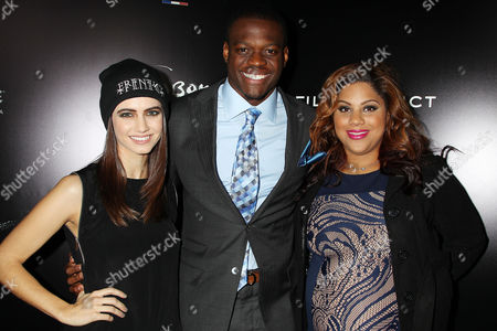 Stock Picture of Victoria Geil, Stephen Hill with guest