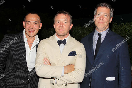 Misha Kizentsov, Guy Ritchie and Lionel Wigram