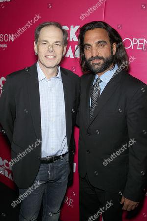 Stock Photo of Mustafa Haidari, Tom Ortenberg (CEO of Open Road)