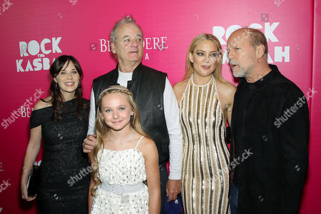 Stock Image of Zooey Deschanel, Avery Phillips, Bill Murray, Kate Hudson, Bruce Willis