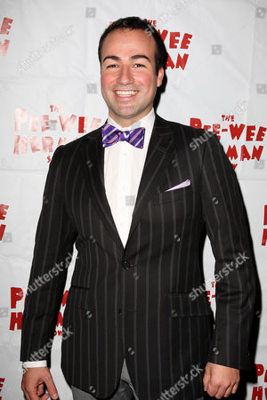 Editorial image of 'The Pee-wee Herman Show' Opening Night, New York, America - 11 Nov 2010