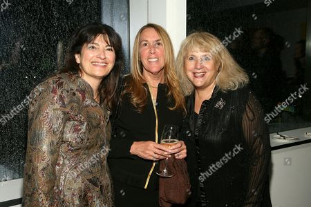 Ruth Reichl, Lori Donnely with guest