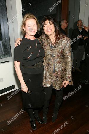 Dianne Weist and Ruth Reichl
