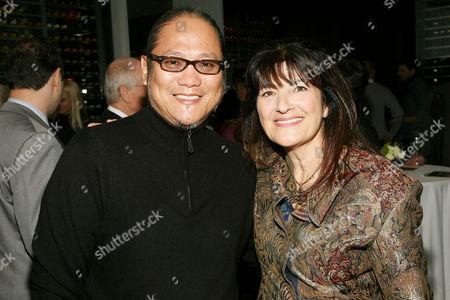 Morimoto and Ruth Reichl