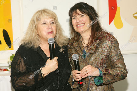 Lori Donnely and Ruth Reichl