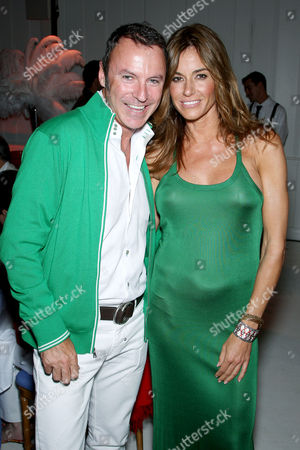 Colin Cowie and Kelly Bensimon
