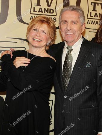 Stock Image of Bonnie Franklin and Pat Harrington Jr.