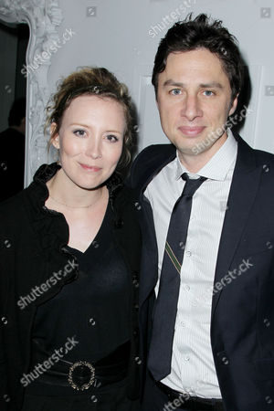 Stock Image of Isabelle Blais, Zach Braff